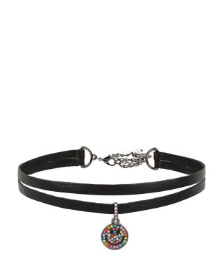 BETSEYS SMILE CHOKER BLACK