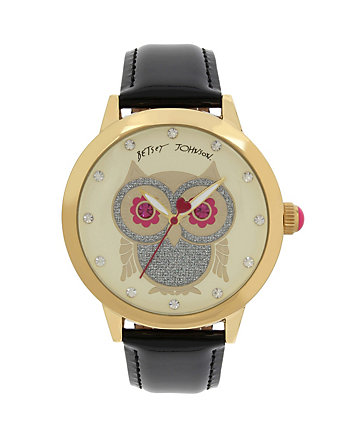 BIG EYED OWL BLACK WATCH