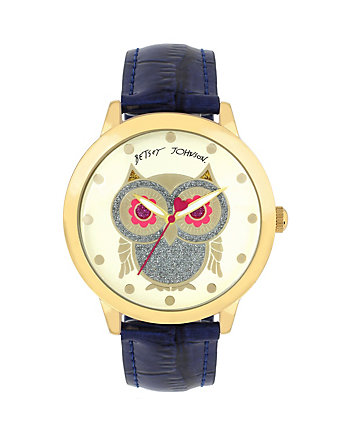 BIG EYED OWL BLUE WATCH