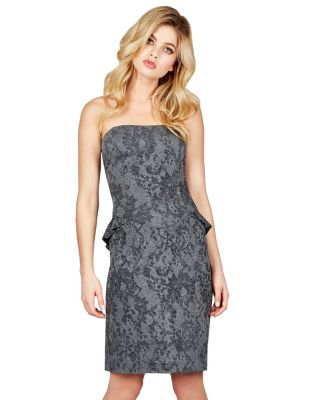 BJ VINTAGE MOONSHINE DRESS GREY/BLACK