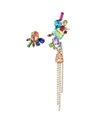 Image of BLOOMING BETSEY MISMATCH CUFF EARRING MULTI
