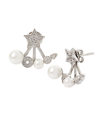 BLUE STARLET STAR EARRINGS