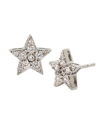BLUE STARLET STAR STUD EARRINGS