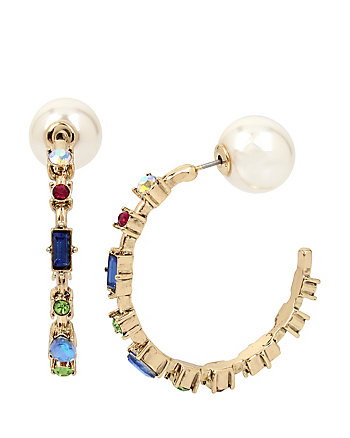 BOARDWALK SWEETS HOOP EARRINGS