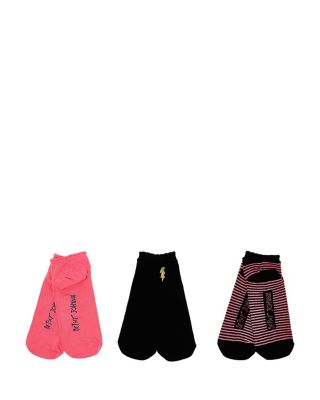 BOLT EMBROIDERED SUPER SOFT THREE PACK BLACK MULTI
