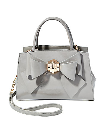 BOW YOU SEE IT REMOVABLE BOW SATCHEL