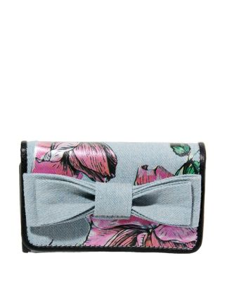 BOWRIFFIC WALLET DENIM FAB