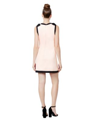 Image of BOWS ON TOP SHIFT DRESS BLUSH