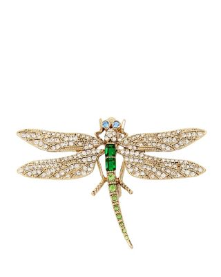 BUGGY BETSEY DRAGONFLY PIN GREEN