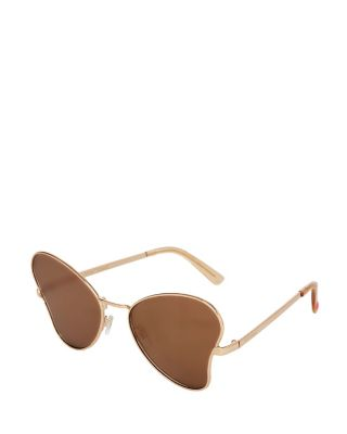 BUTTERFLY BETSEY SUNGLASSES GOLD