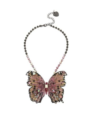 BUTTERFLY BLITZ LARGE PENDANT PINK