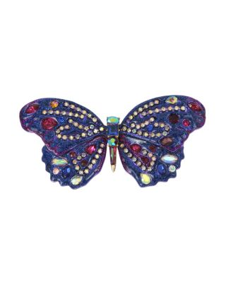 BUTTERFLY BLITZ STATEMENT PIN PURPLE