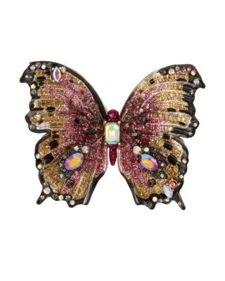 BUTTERFLY BLITZ STATEMENT RING PINK