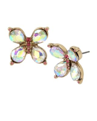 BUTTERFLY BLITZ STUD EARRINGS MULTI