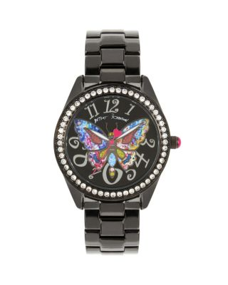 BUTTERFLY MOSAIC BLACK WATCH BLACK