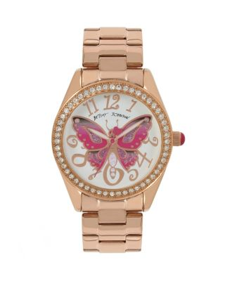 BUTTERFLY MOSAIC ROSE GOLD WATCH ROSE GOLD