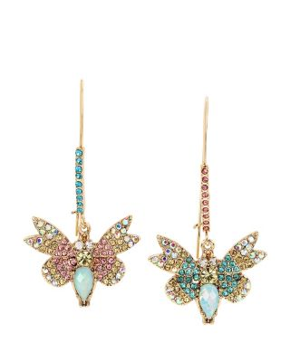BUZZ OFF BUTTERFLY HOOK EARRINGS MULTI