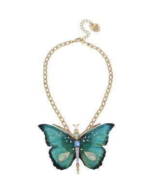 BUZZ OFF BUTTERFLY LARGE PENDANT MULTI