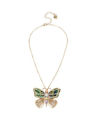 BUZZ OFF BUTTERFLY PENDANT MULTI