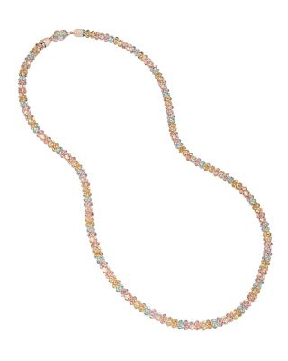 BUZZ OFF MESH TUBE NECKLACE MULTI