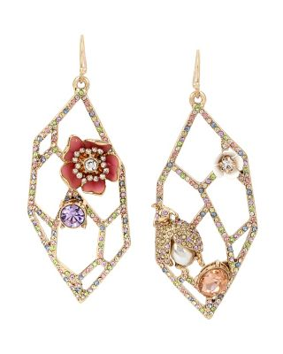 BUZZ OFF OPENWORK EARRINGS MULTI