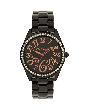 CANDY COATED BLACK WATCH