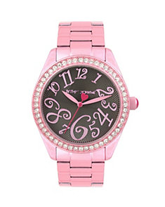 CANDY COATED PINK WATCH