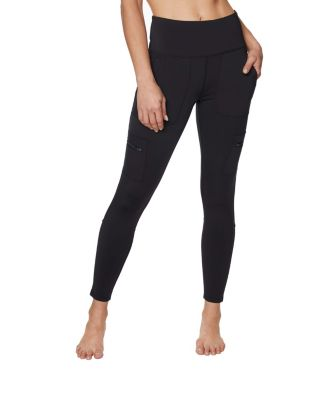 Image of CARGO POCKET LEGGINGS BLACK