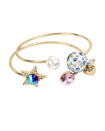 CELESTIAL STARLET BANGLE SET