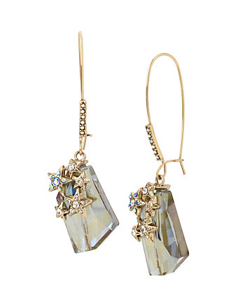 CELESTIAL STARLET HOOK EARRINGS
