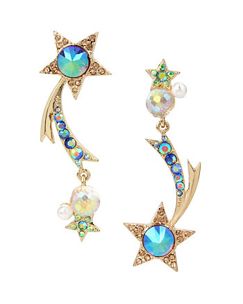CELESTIAL STARLET SHOOTING STAR EARRINGS