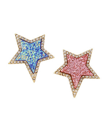CELESTIAL STARLET STAR MISMATCH EARRINGS