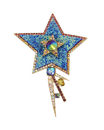 CELESTIAL STARLET STAR PIN