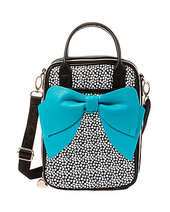 CHOW BELLA LOVELY BOW LUNCH TOTE