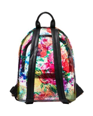 Image of CLEARLY FLORAL BACKPACK MULTI