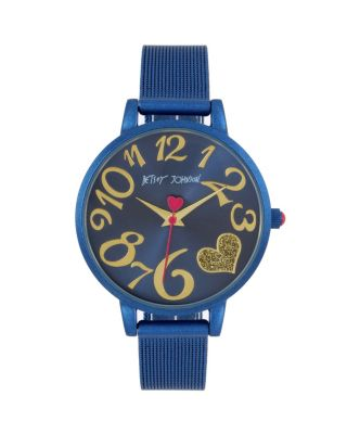 COLOR TIME BLUE HEART WATCH BLUE
