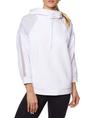 Image of COLORBLOCK TRACK HOODIE WHITE