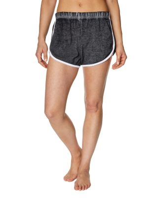 Image of CONTRAST TRIM TRACK SHORT BLACK