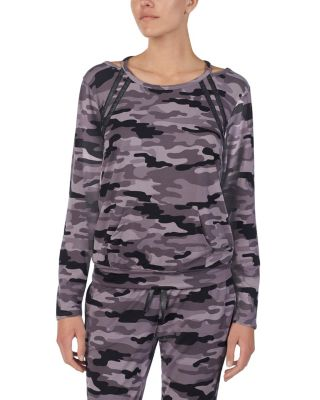 Image of COOL GIRLS LOUNGE TOP CAMOUFLAGE