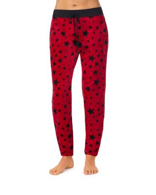 Cozy time plush pant red