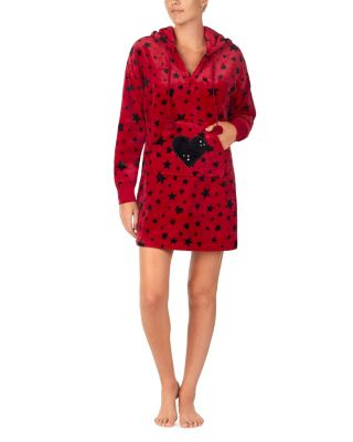 Image of COZY TIME PLUSH TUNIC LEOPARD