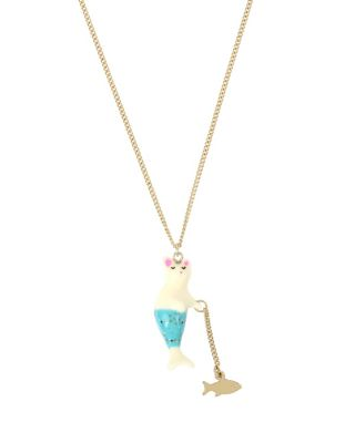 CRABBY COUTURE PURMAID PENDANT BLUE