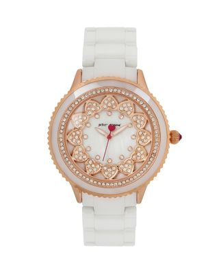 RING OF HEARTS WATCH WHITE