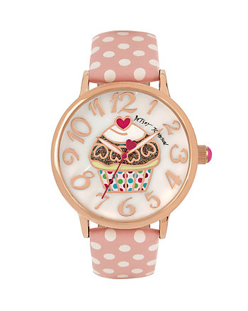 CUPCAKES AND GINGHAM WATCH