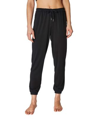 Image of CUPRO LACE UP JOGGER BLACK