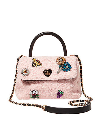 CURLY GIRL TOP HANDLE CROSSBODY