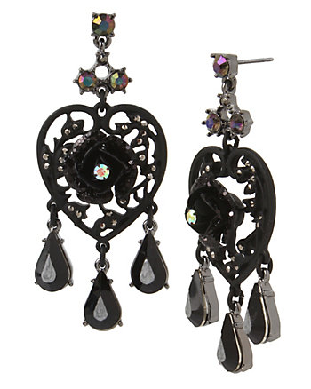 DARKNESS CHANDELIER EARRINGS