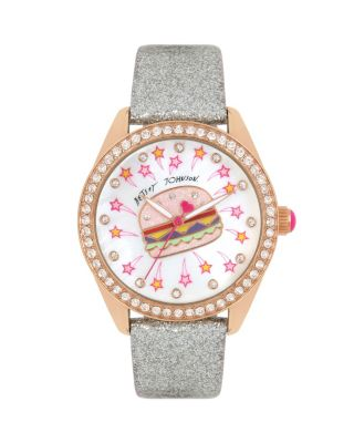 DINER TIME BURGERTASTIC WATCH GOLD