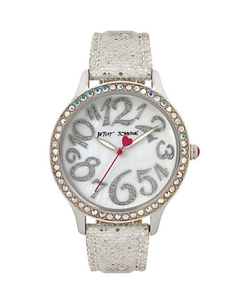 DISCO TIME SILVER WATCH