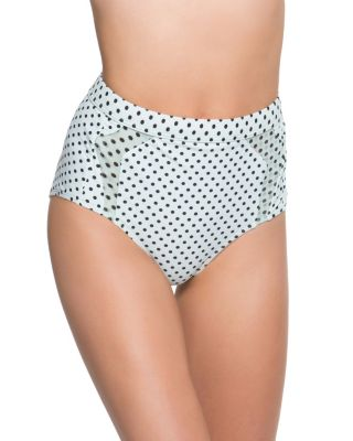 DUO DOT HIGH WAIST BOTTOM MINT